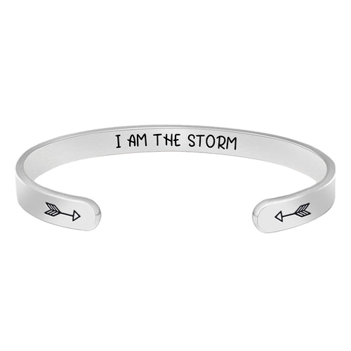 Friendship bracelet - I'm the storm-Cuff Bracelets-Btysun