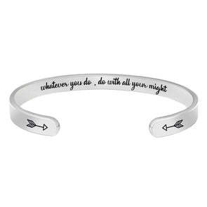 Bracelets for Women - Whatever you do,do with all your might