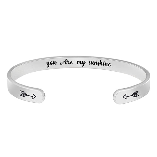 Best friend bracelet - you're my sunshine-Cuff Bracelets-Btysun
