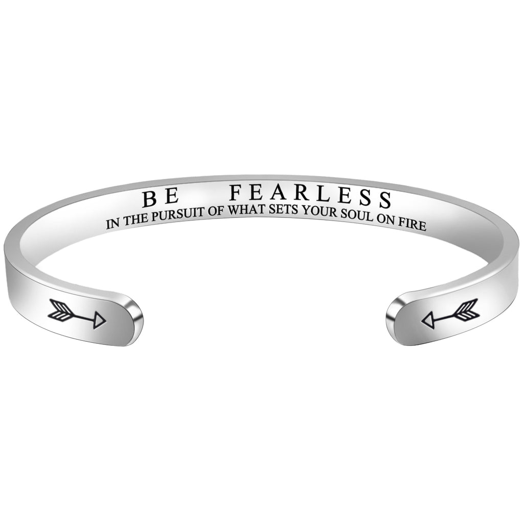 Bracelets for Women - Be Fearless In The Pursuit Of What Sets Your Soul On Fire