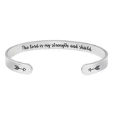 Christian Gifts for Women - The Lord is My Strength and Shield
