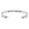Best friend bracelet - You are so fucking loved-Cuff Bracelets-Btysun