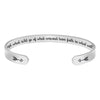 Inspirational bracelet - Accept what is,let go of what was. and have faith in what will be-Cuff Bracelets-Btysun