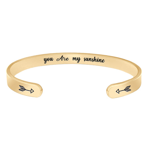 Bracelets for Women - you're my sunshine