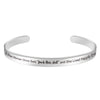 Inspirational bracelet - A wise woman Once Said That fuck this shit and she lived happily ever after-Cuff Bracelets-Btysun