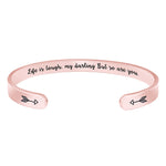 Protection bracelets for women - Life is tough,my darling But...Bracelets