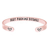 Friendship Bracelets for Women - Best Fucking Bitches - inside