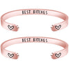 Mom and daughter bracelets -  Best Bitches -2pcs
