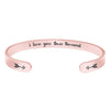 Friendship bracelet - I love you three thousand-Cuff Bracelets-Btysun