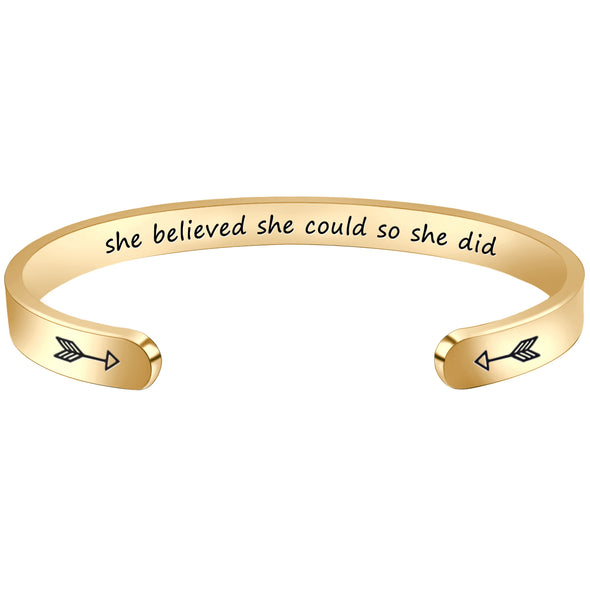Gifts for Women - She believed she could so she did
