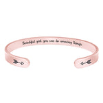 Teacher bracelet- Beautiful Girl You can do Amazing Things