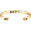 Friendship bracelet - BEST BITCHES-Cuff Bracelets-Btysun