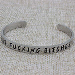 Sister bracelets for women - Best Fucking Bitches