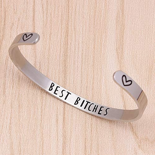 Friendship bracelets - Best Bitches