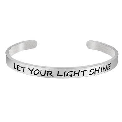 Bracelets for women - Let your light shine