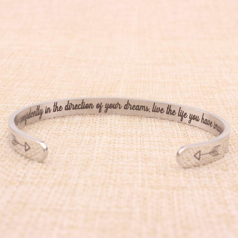 Gifts for Women - Go confidently in the direction...