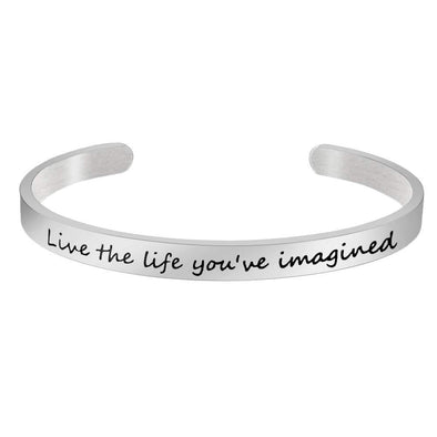 Bracelets for women - Live the life you've imagined