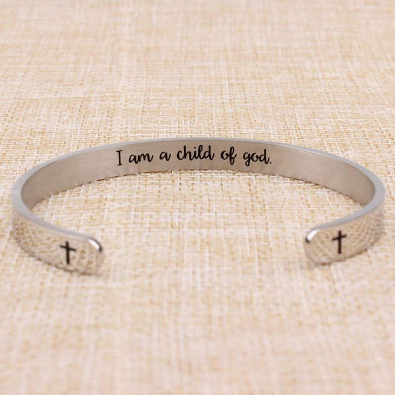 Bracelets for women inspirational gifts for women - I am a Child of god