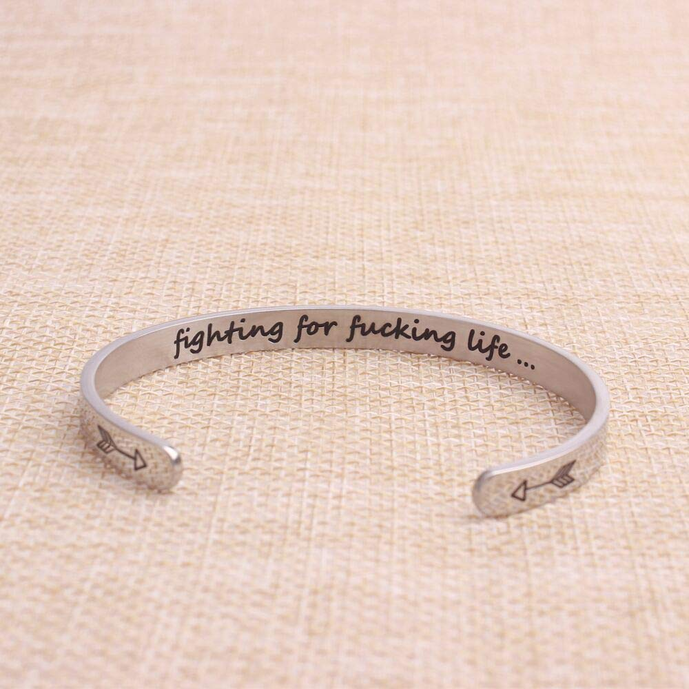 Inspirational Gifts for Women,Men - Fighting for fucking life