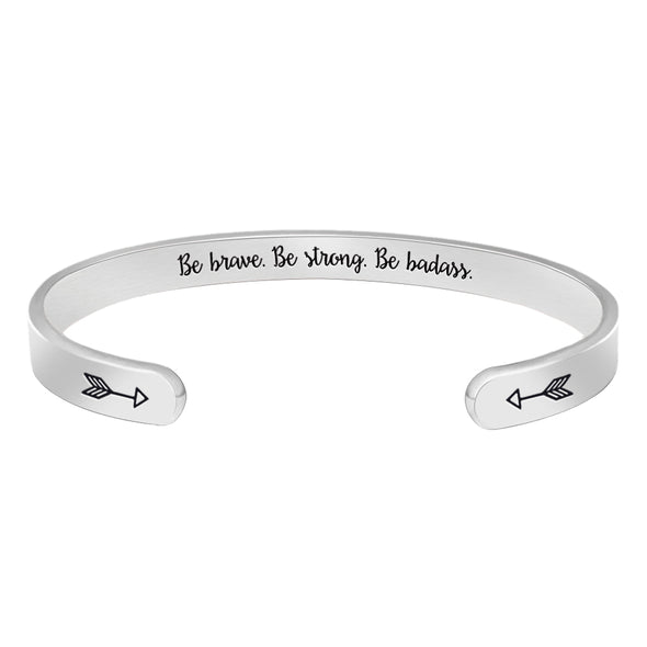 Gifts for Women - Be Brave. Be Strong. Be Badass.