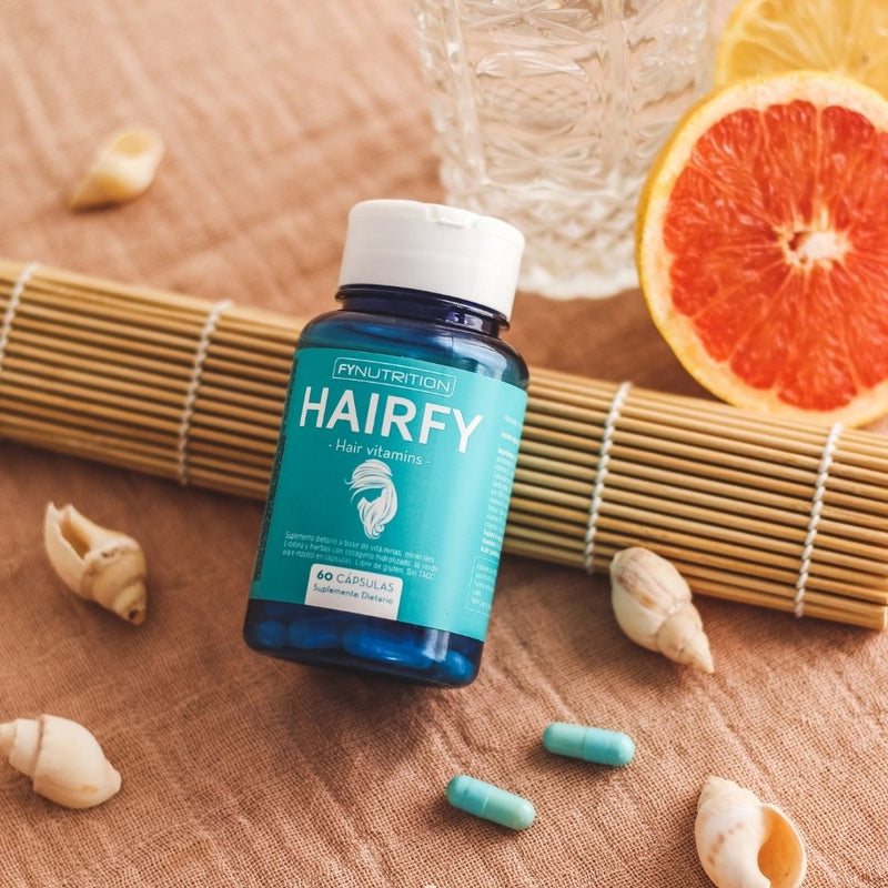 Vitaminas Hairfy - 4 unidades