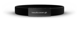 Beautiful Brown Girl Affirmation Bracelet