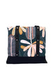 Lugger - Banksia on Navy - Reusable Shopping/Tote Bag