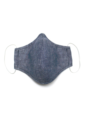 Small Face Mask - Blue Merle - Washable 3 Layer Mask