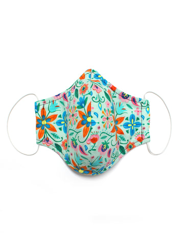 Large Face Mask - Florabella - Washable 3 Layer Mask