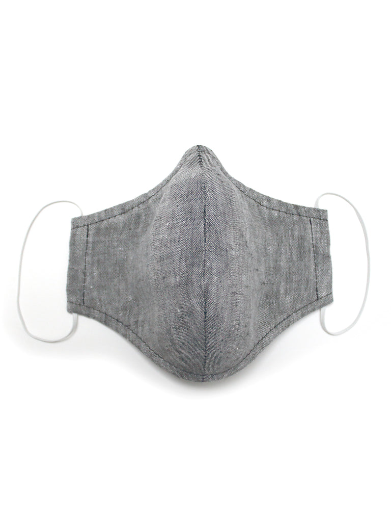Medium Face Mask - Grey Merle - Washable 3 Layer Mask