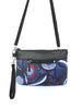 CARRY-ALL WALLET - GUM BLOSSOMS NAVY