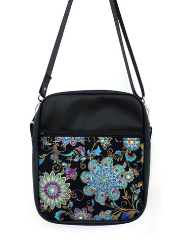 LARGE JETSETTER BAG - DYNASTY MEDALLION - HANDMADE VEGAN BAG
