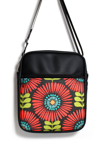 LARGE JETSETTER BAG - FRINGE FLOWERS