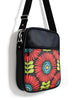 LARGE JETSETTER BAG - FRINGE FLOWERS - HANDMADE VEGAN BAG