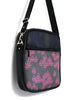 LARGE JETSETTER BAG - GEO RAINDROP PINK - HANDMADE VEGAN BAG