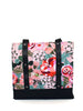 LUGGER - KATZ PINK FLORAL - HANDMADE VEGAN REUSABLE BAG