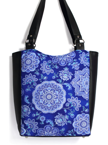 LARGE TOTE BAG - DUTCHESS - HANDMADE VEGAN BAG