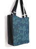 LARGE TOTE BAG - GEO RAINDROP BLUE