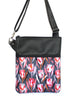LARGE ZIP-IT - PROTEA STEEL - HANDMADE VEGAN BAG
