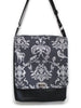 LARGE MESSENGER BAG - ECHINO CLASSIC ANIMALS - HANDMADE VEGAN BAG
