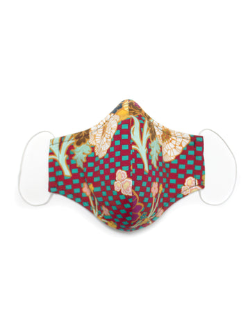 Small Face Mask - Marqueterie - Washable 3 Layer Mask