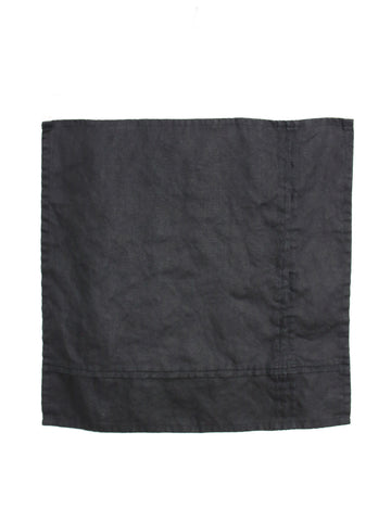 Napkin Set of Two - Black Linen