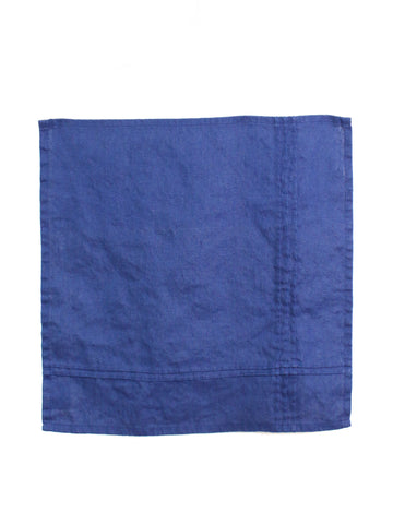 Napkin Set of Two - Navy Linen