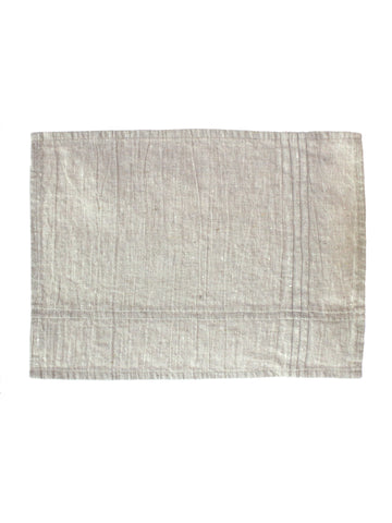 Placemat Set of Two - Oatmeal Linen