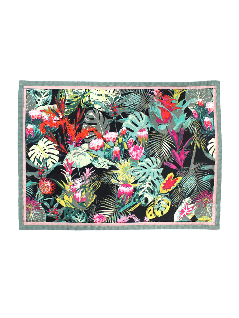 Placemat Set of Two - Tropicalia Dark