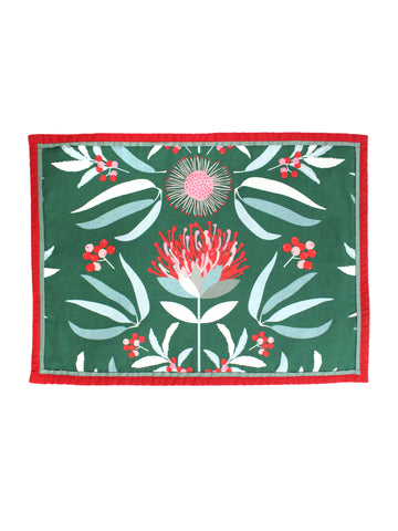 Placemat Set of Two - Waratahs