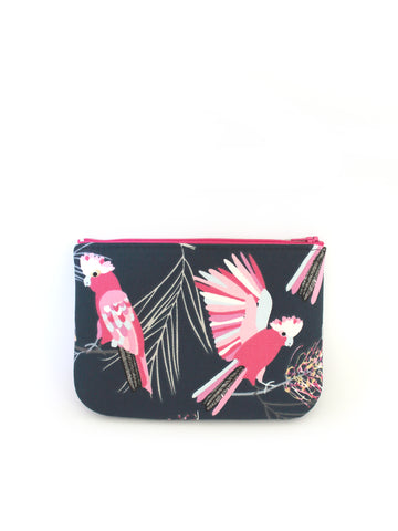 ZIPPERED POUCH - GALAHS
