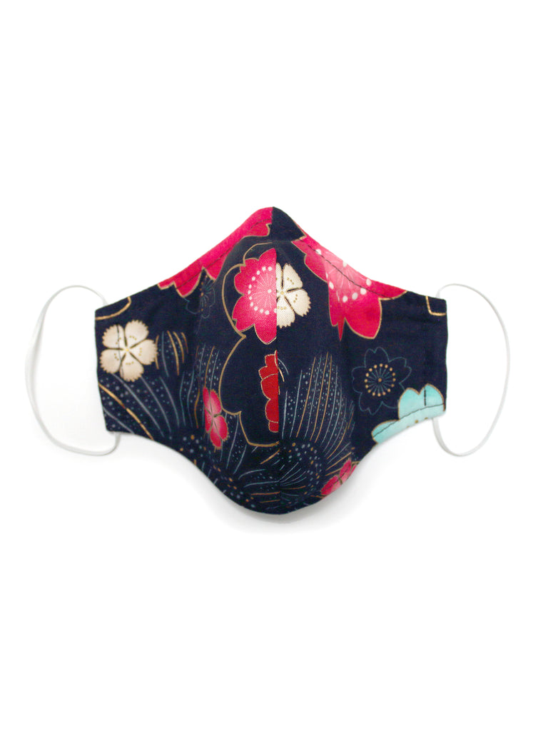 Large Face Mask - Sakura - Washable 3 Layer Mask