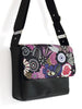 SMALL MESSENGER BAG - BIRDS AND BLOOMS - HANDBAG