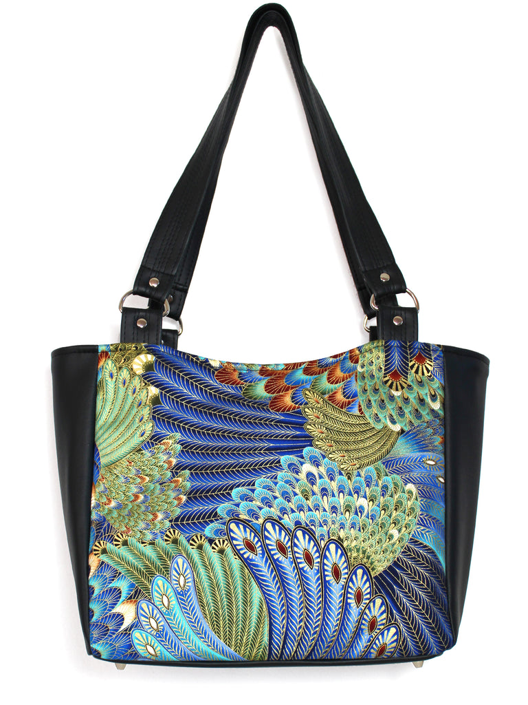 SMALL TOTE BAG - ALEXANDRIA FEATHERS